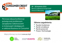 April Consumer Credit Days